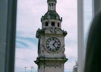 Image of large clock
