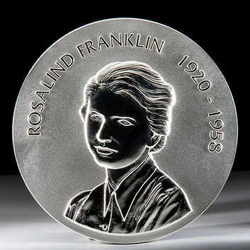 Image of Rosalind Franklin Medal